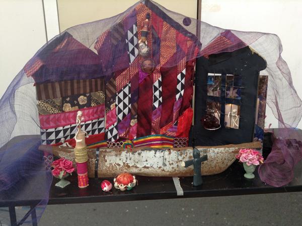 House for Día de los Muertos altar